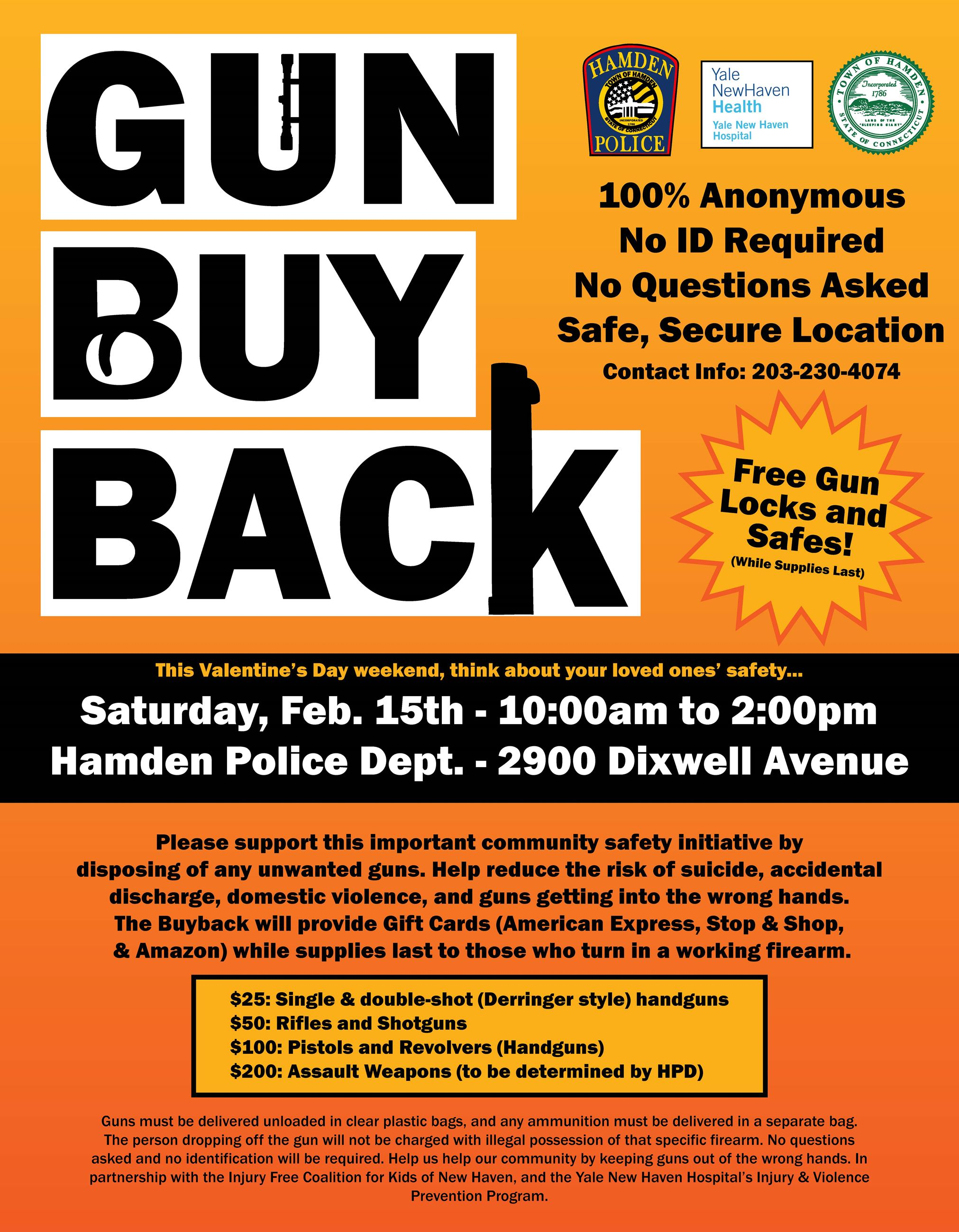 Gun Buy Back Flyer (PDF)